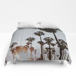 palm trees vi / venice beach, california Comforters