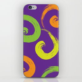 Purple Calypso iPhone Skin