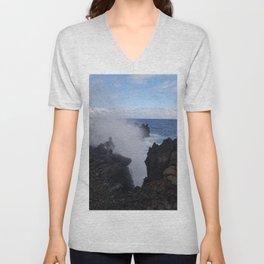 Ocean Explosion Unisex V-Neck