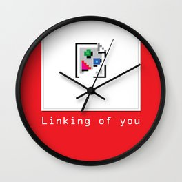 Talk Nerdy to me - Linking of you Wall Clock
