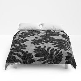 Taiga forest Comforters