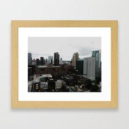 Urban view Framed Art Print