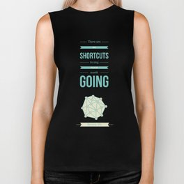 Lab No. 4 - No Shortcuts Beverly Sills Quotes Poster Biker Tank