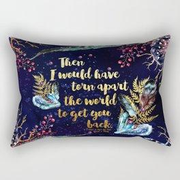 ACOMAF - Torn Apart The World Rectangular Pillow