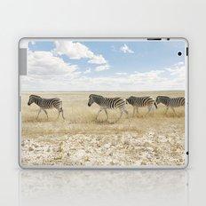 Zebra on African Savannah Laptop & iPad Skin