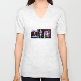 Three is a magic number Unisex V-Neck