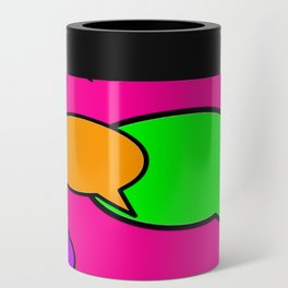 Word Bubble HELP jGibney The MUSEUM Society6 Gifts Can Cooler