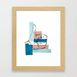 Thumbs up! (Hand Sign) Framed Art Print