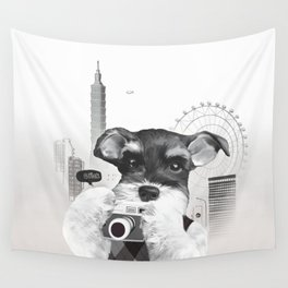 Taipei Day Trips Wall Tapestry
