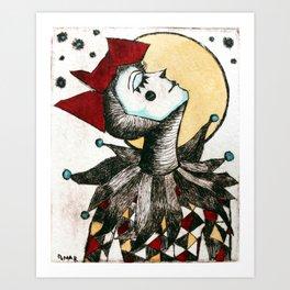 Arlequina Art Print