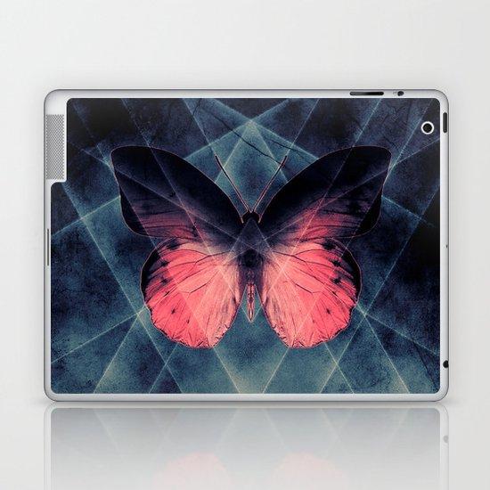 Beautiful Symmetry Butterfly Laptop & iPad Skin