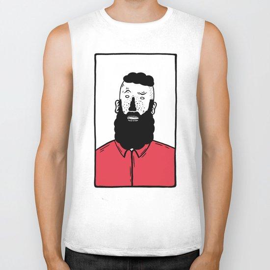 BearD Guy Biker Tank