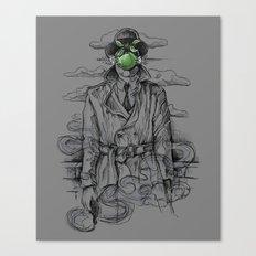 Magritte Noir Canvas Print