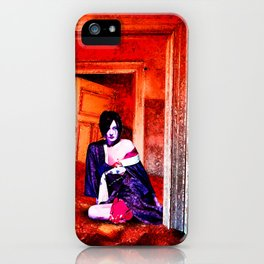 The Woman in the Dunes iPhone Case