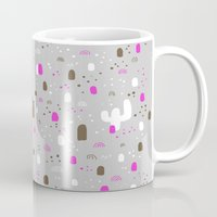 returns Mugs featuring Mr Neopolitan returns home by Randyotter