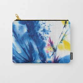 Abstract Blooms 1a by Kathy Morton Stanion Carry-All Pouch