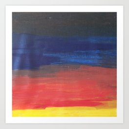 Evening Twilight, Morning Sunshine Art Print