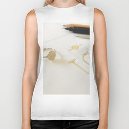 Signet Ring Sketch Biker Tank