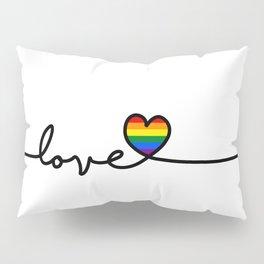 LGBT Love Pillow Sham