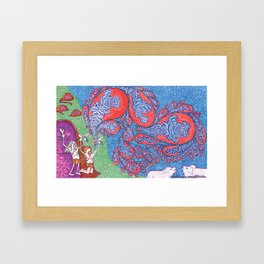 The Miracle of the Deviled Ham (#1 of 3) Framed Art Print