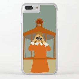 Moonrise Kingdom Clear iPhone Case