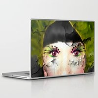 depression Laptop & iPad Skins featuring Depression by ADH Graphic Design