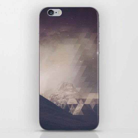 Space Mountain iPhone Skin