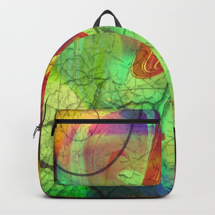 Opalescent Alien View Backpack