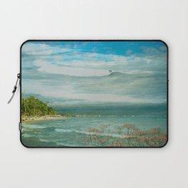 Tropical Surf Laptop Sleeve