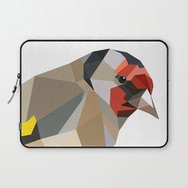 Goldfinch art Geometric art Laptop Sleeve