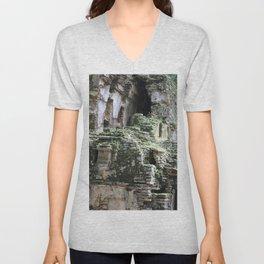 Mayan Ruins Unisex V-Neck