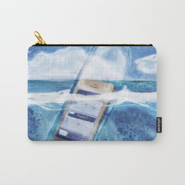Message in a Bottle Carry-All Pouch