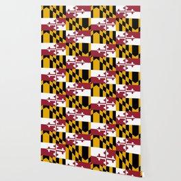 Maryland State Flag, Hi Def image Wallpaper