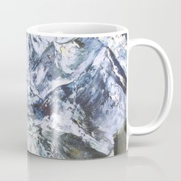 Jungfrau mountain. Swiss Alps Coffee Mug