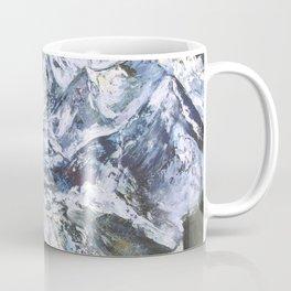 Jungfrau mountain. Swiss Alps Coffee Mug