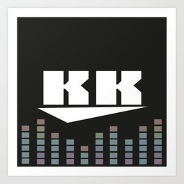 DJ KK v2 Art Print