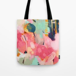 spring moon earth garden Tote Bag