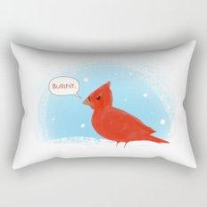 Winter Cardinal Rectangular Pillow