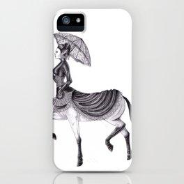 Victorian Centaur iPhone Case