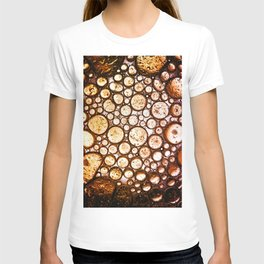 Oil on Water Bubble Abstract III T-shirt
