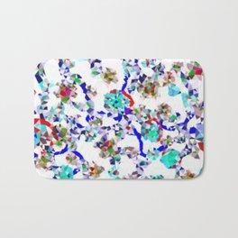 Crystal Floral Bath Mat
