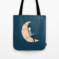 Ze Croissant Moon Tote Bag