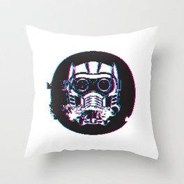 GLITCH-LORD Throw Pillow