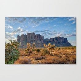 Superstition Landscape Canvas Print