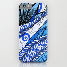 Boho Stylized Rope Pattern iPhone Case
