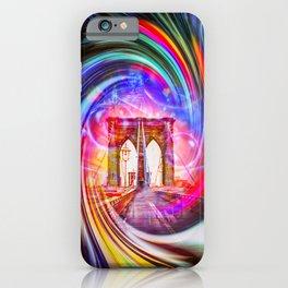 New York Brooklyn Bridge iPhone Case