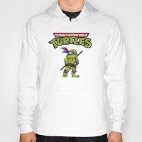 ninja turtle Hoodies featuring Ninja Turtle by flydesign