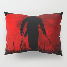 Red Moon Pillow Sham