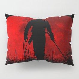 Red Moon Pillow Sham
