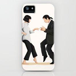 Pulp Fiction Twist Dance - iPhone Case